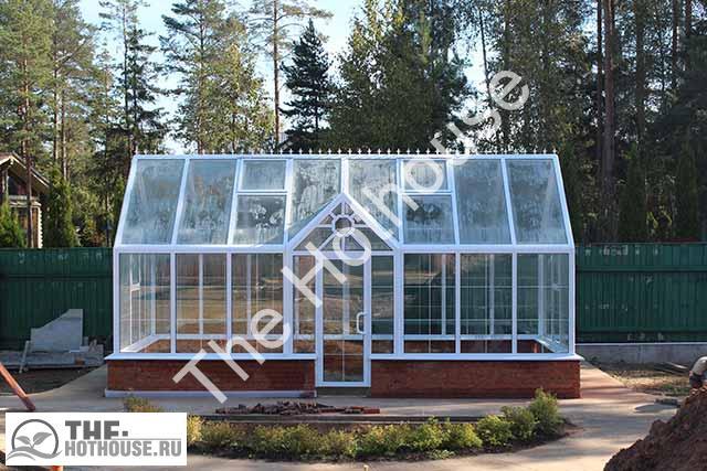 Теплица класса «Люкс» производитель качественных теплиц и зимних садов.